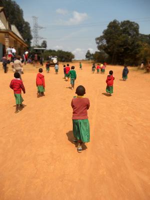 Volunteer tips - African children