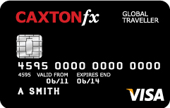 Currency Card Caxton FX